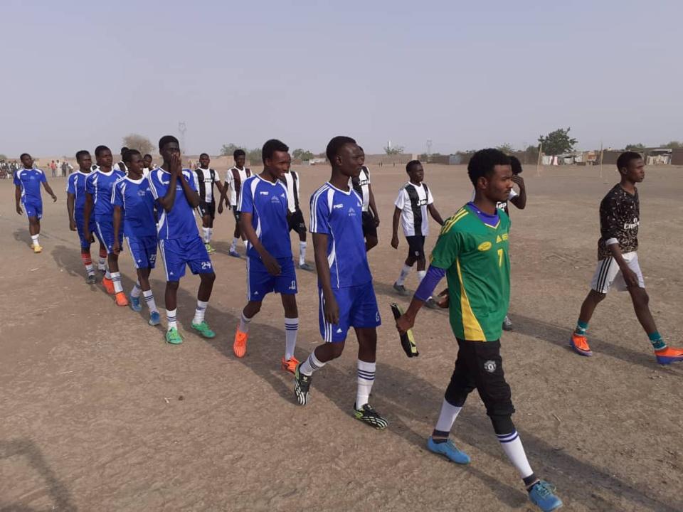 N'Djamena : des jeunes lancent un tournoi de football à N'Djari Kawas