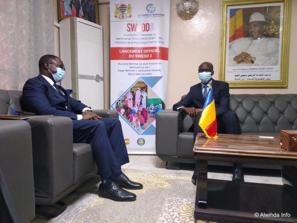 Tchad : le représentant de l'UNFPA reçu au ministère de l'Économie