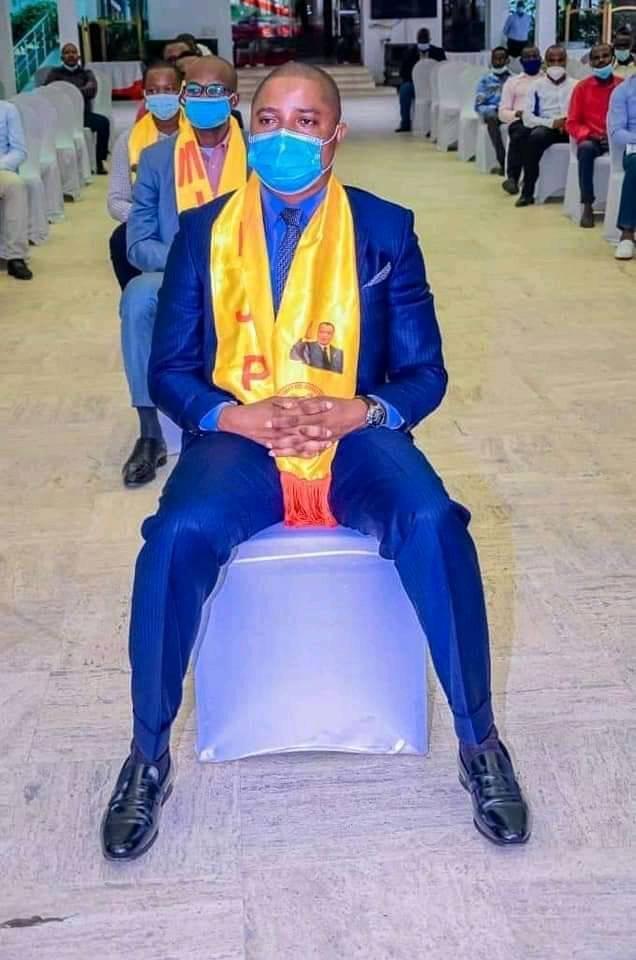 Le président du MJP, Donald Moubobola.