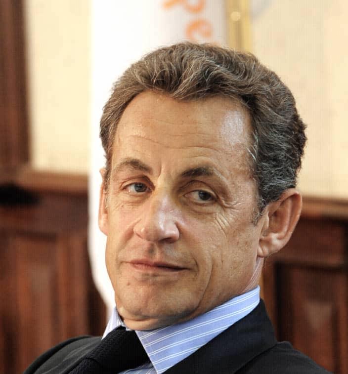 L'ancien président Nicolas Sarkozy condamné à de la prison ferme. © DR