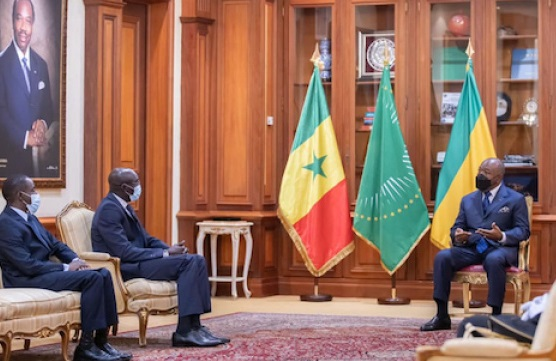 Gabon : Les ambassadeurs du Sénégal, du Canada et d'Israël présentent leurs lettres de créances