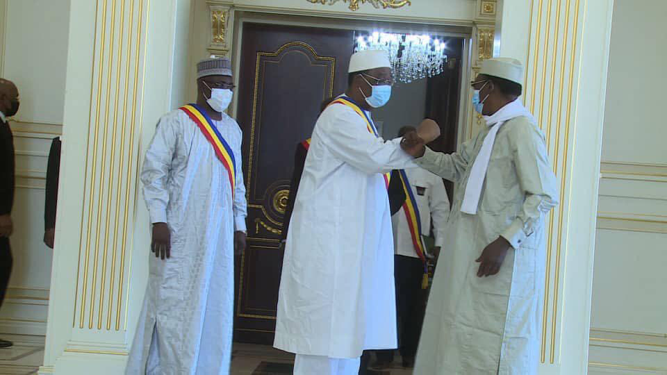 Tchad - Yaya Dillo : une délégation parlementaire rencontre le président. © PR