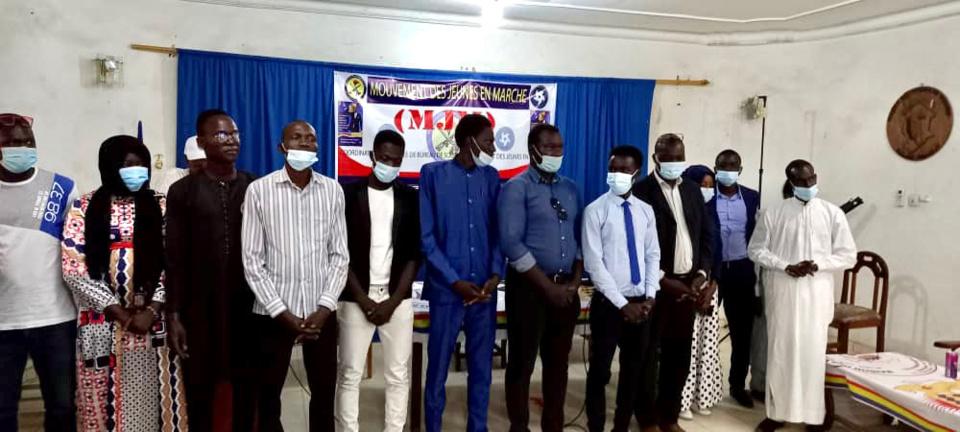 """Tchad : le bureau de soutien """"Mouvement des jeunes en marche"""" est lancé"""