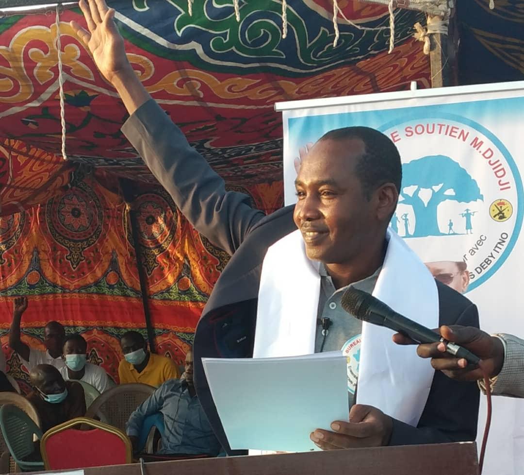 """Tchad : le bureau de soutien au MPS, """"M. Djidji"""" lance ses activités"""