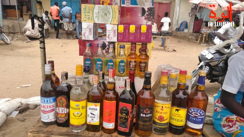 Tchad : la ville de N'Djamena submergée par la vente des boissons frelatées