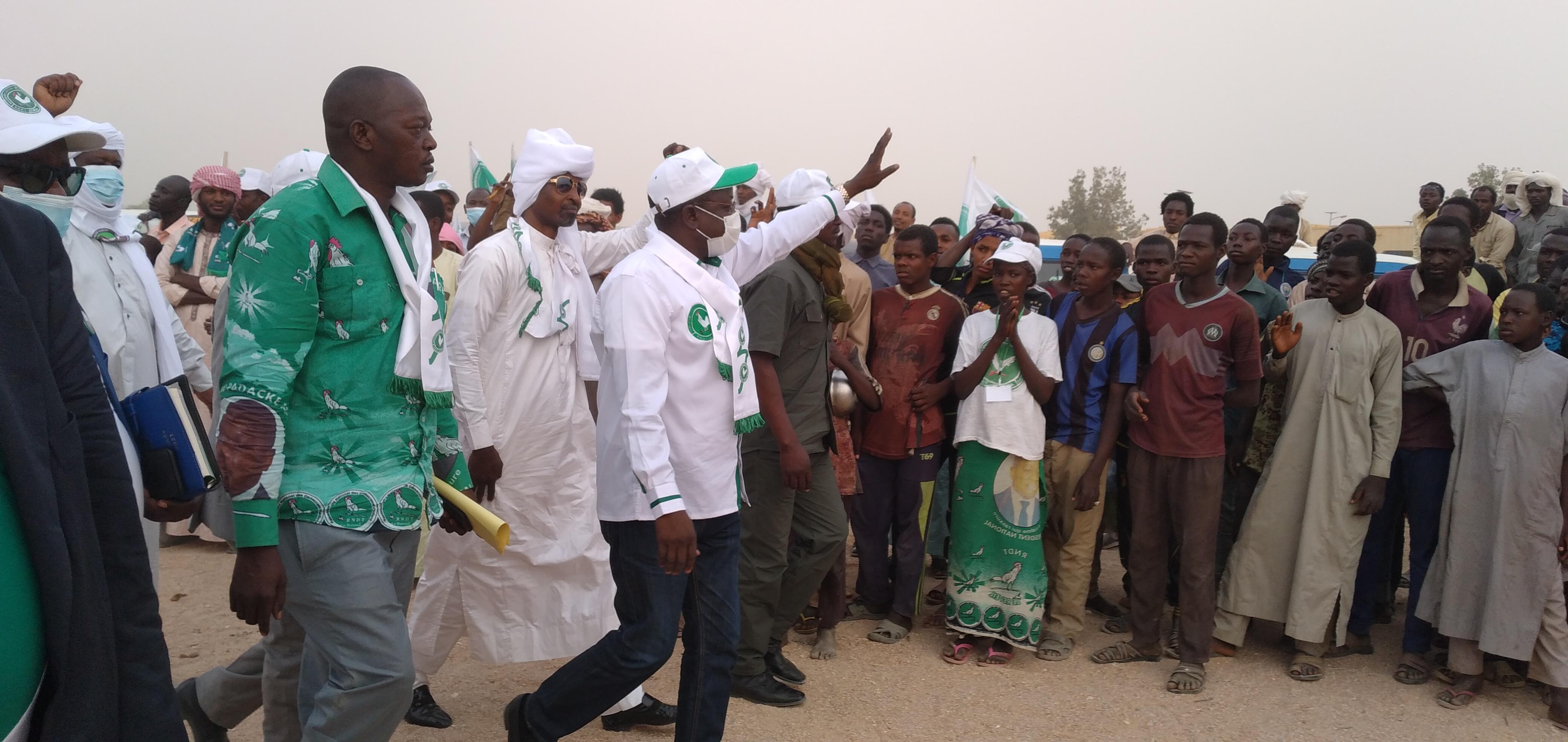 Élections au Tchad : en meeting à l'Est, Pahimi Padacké Albert promet le changement