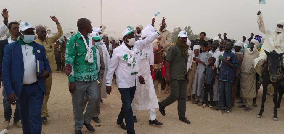 Tchad : en meeting au Wadi Fira, Pahimi Padacké s'engage à améliorer les conditions de vie