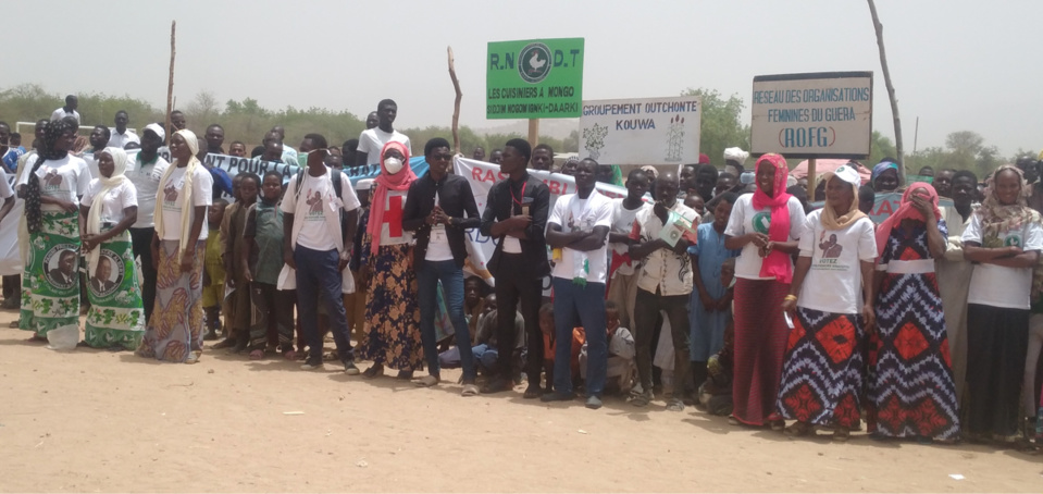 Élections au Tchad : le candidat Pahimi Padacké Albert est arrivé à Mongo