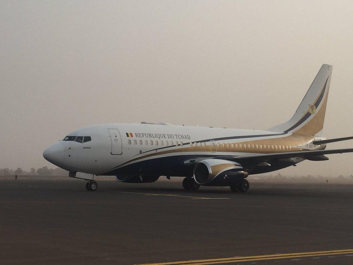 Un avion présidentiel tchadien. Illustration ©DR