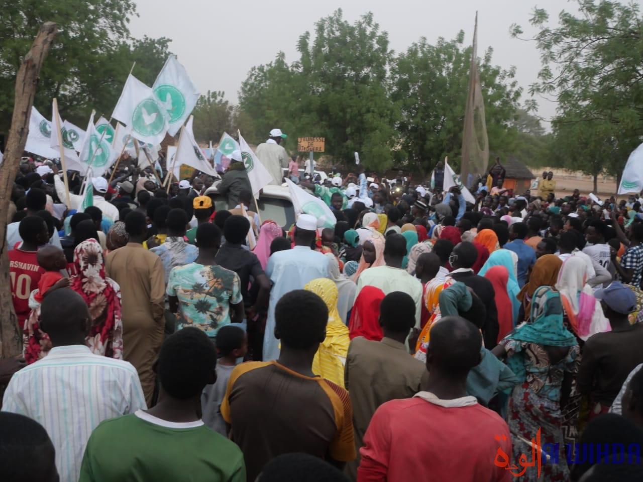 Tchad : liesses populaires au Guéra pour la tournée du candidat Pahimi Padacké