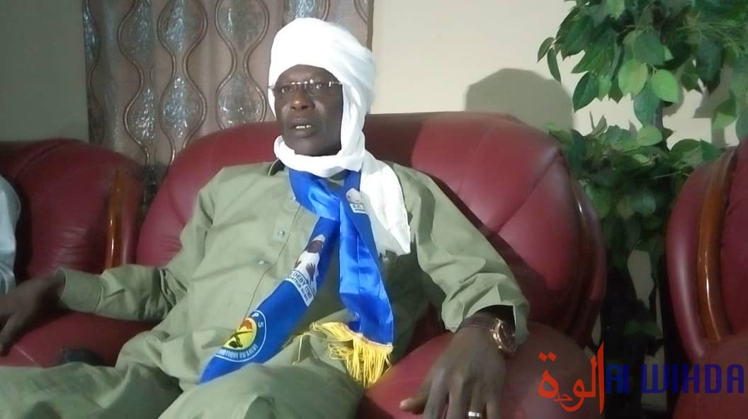 Tchad : le chef de mission du MPS au Ouaddaï, Alio Abdoulaye Ibrahim, accueilli à Adré