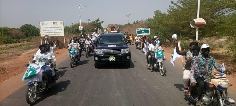 Tchad : le candidat Pahimi Padacké en campagne à Sarh