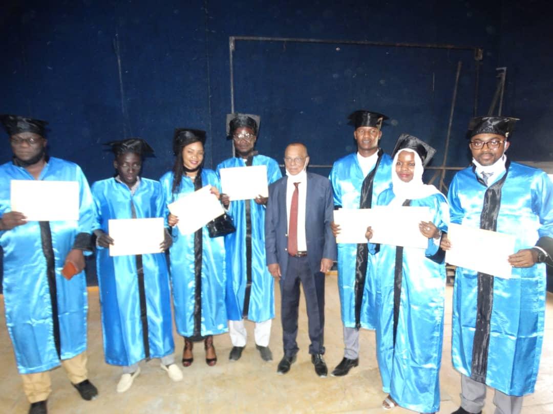 Tchad : remise des parchemins à 53 lauréats de Master de l'UAMI