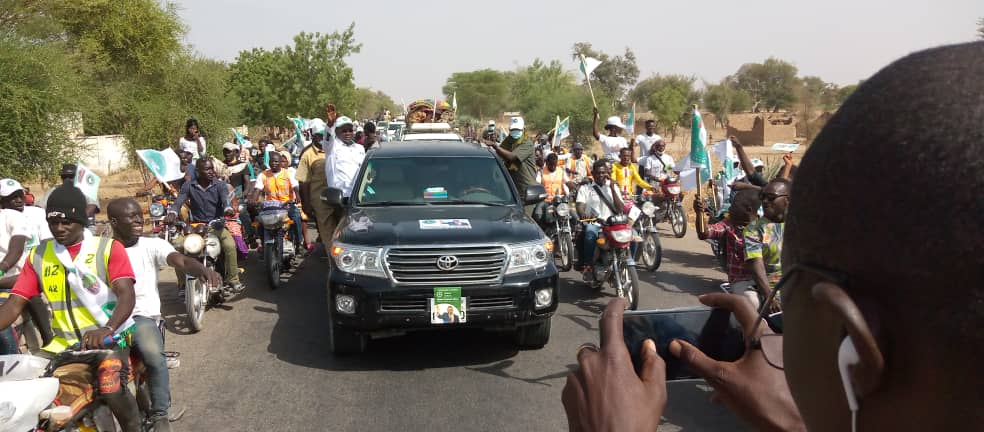 """Tchad : """"Je suis un bon chauffeur pour conduire le peuple"""", Pahimi Padacké"""