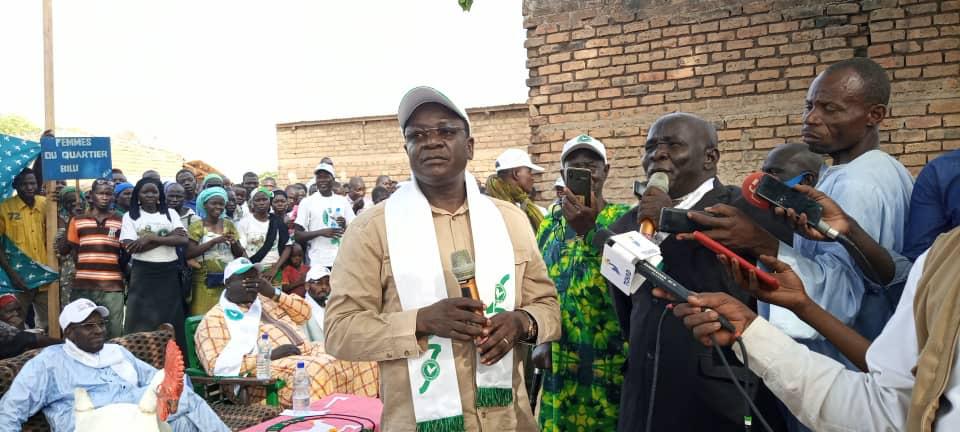 """Tchad : """"les femmes meurent en donnant la vie. Plus jamais si je suis élu"""" (Pahimi Padacké)"""