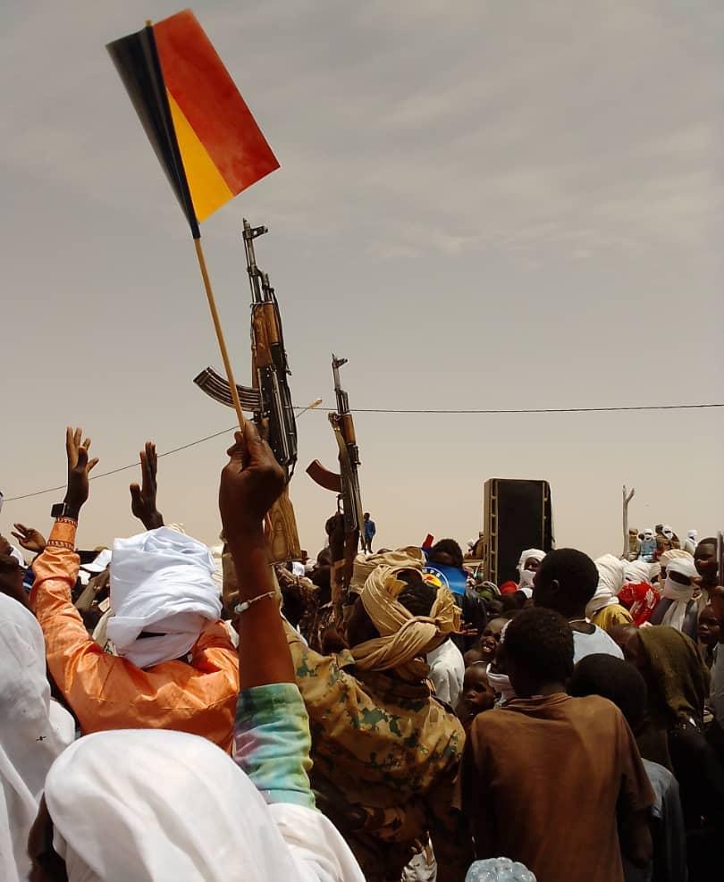 """Élections au Tchad : Tiné montre sa force pour le """"coup K.O."""""""