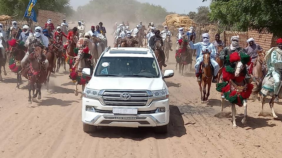 Élections au Tchad : meeting du MPS dans la sous-préfecture de Koundjourou