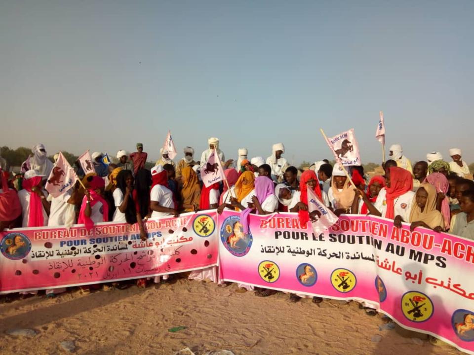 """Tchad : meeting du bureau """"Abou Aché"""" à Abéché pour le candidat du consensus"""