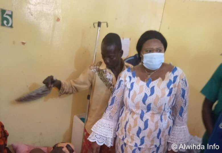 Tchad : la gouverneure du Mandoul au chevet des victimes d'un grave accident