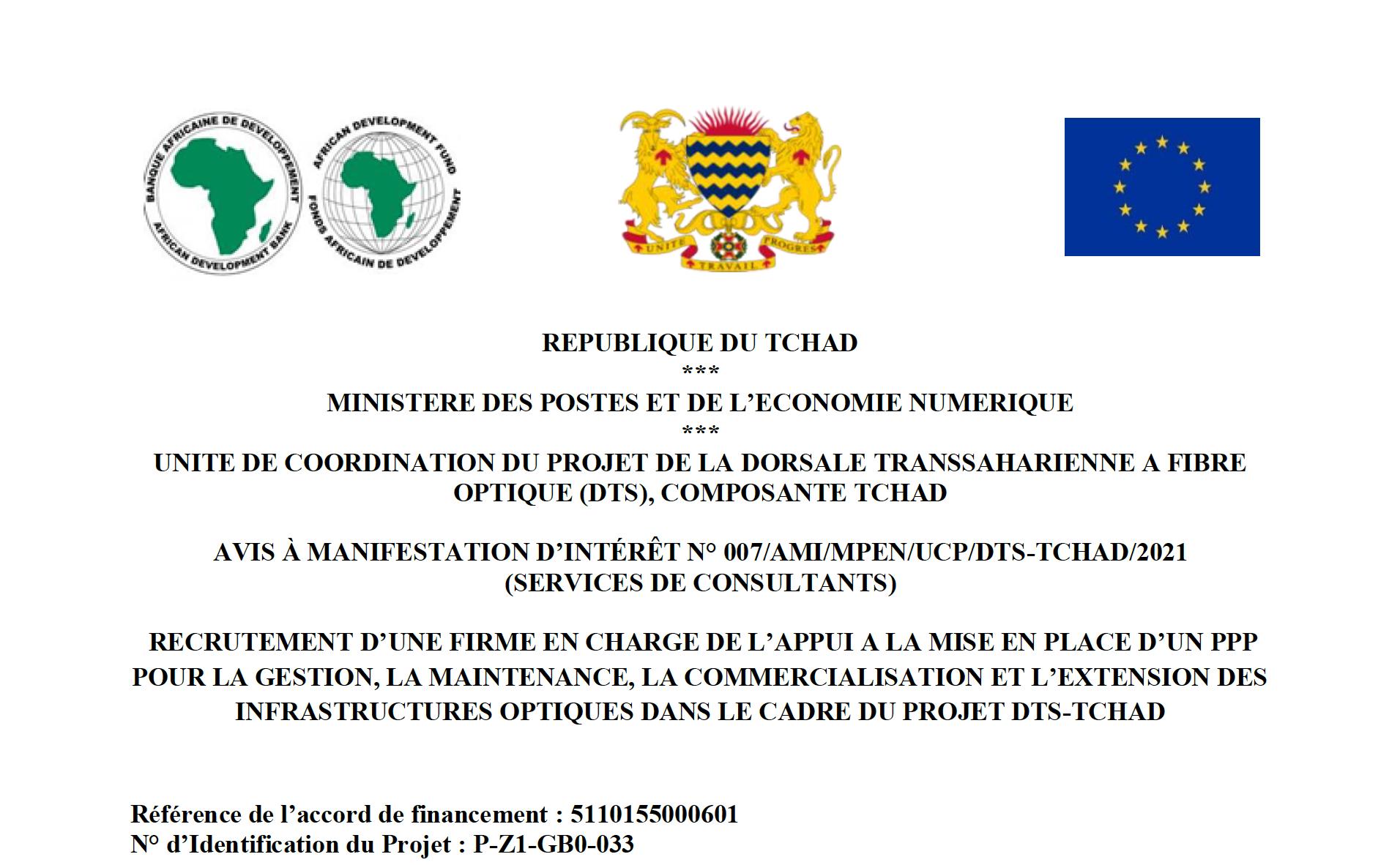 Projet DTS-Tchad