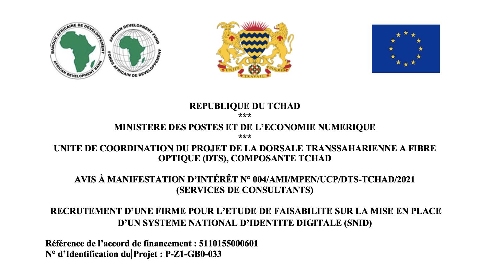 @Projet DTS-Tchad