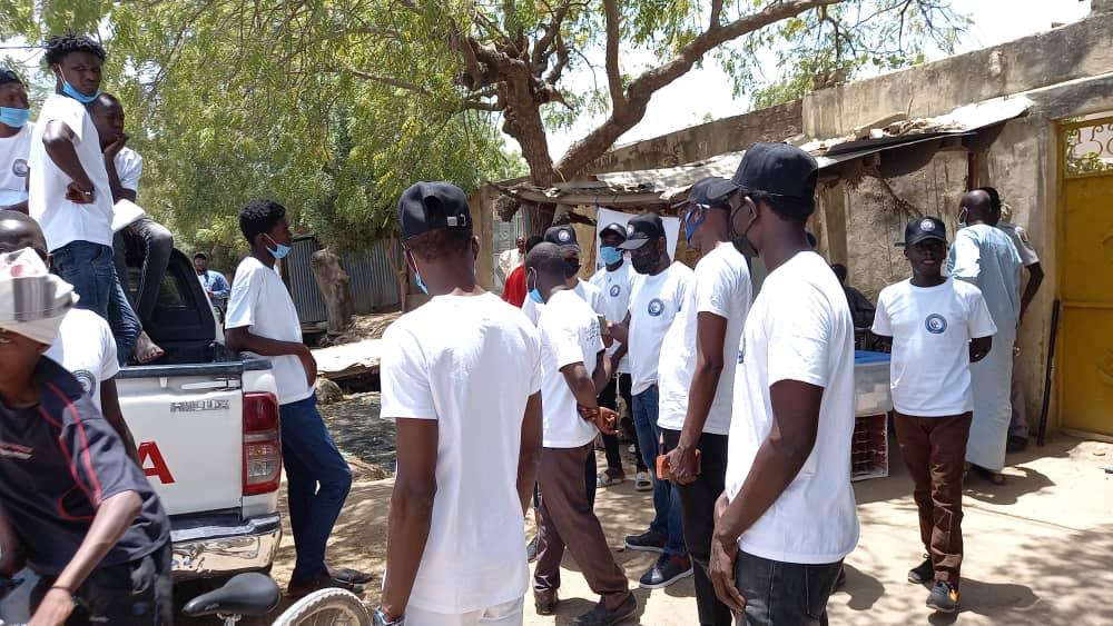 Tchad : l'ACAPP distribue de la nourriture et de l'eau dans les bureaux de vote