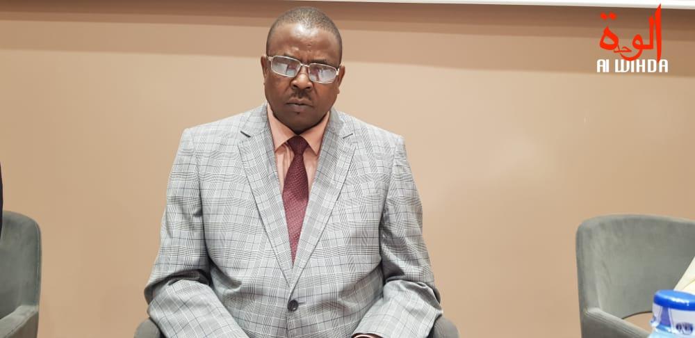 Le président de la CNDH, Djidda Oumar Mahamat. Illustration © Alwihda Info