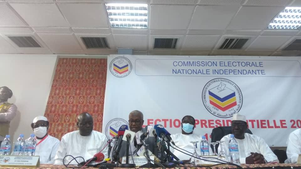 Tchad : les résultats provisoires et partiels de la CENI dans la province du Ouaddaï