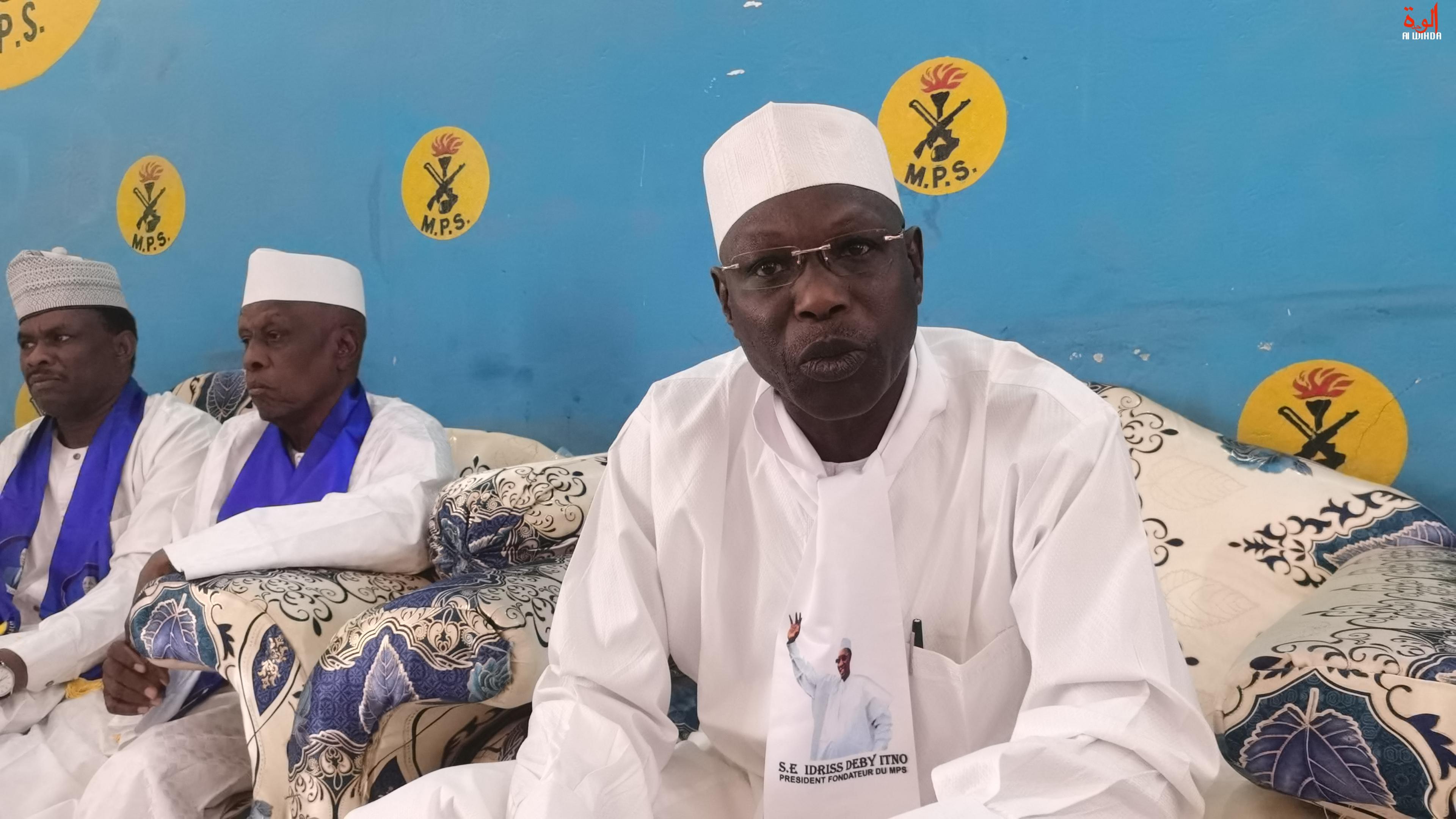 Tchad : le chef de mission du MPS, Alio Abdoulaye Ibrahim, se félicite du scrutin au Ouaddaï