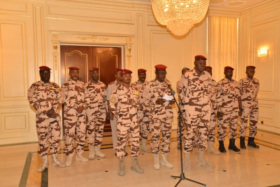 Tchad : déclaration du conseil militaire de transition