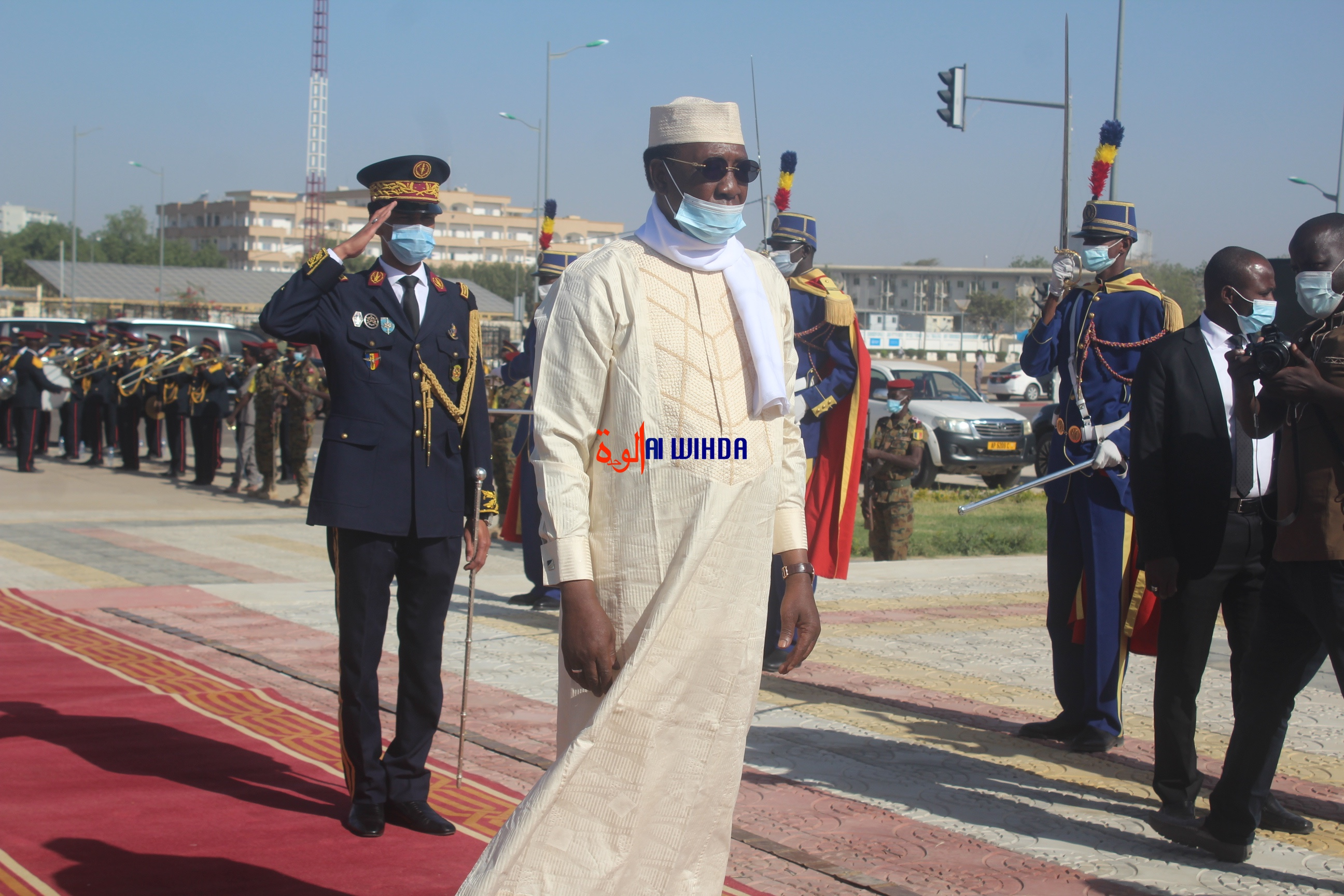Idriss Deby Itno. © Ben Kadabio/Alwihda Info