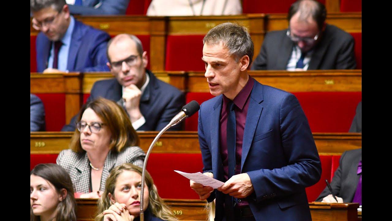 Le député français Sébastien Nadot.