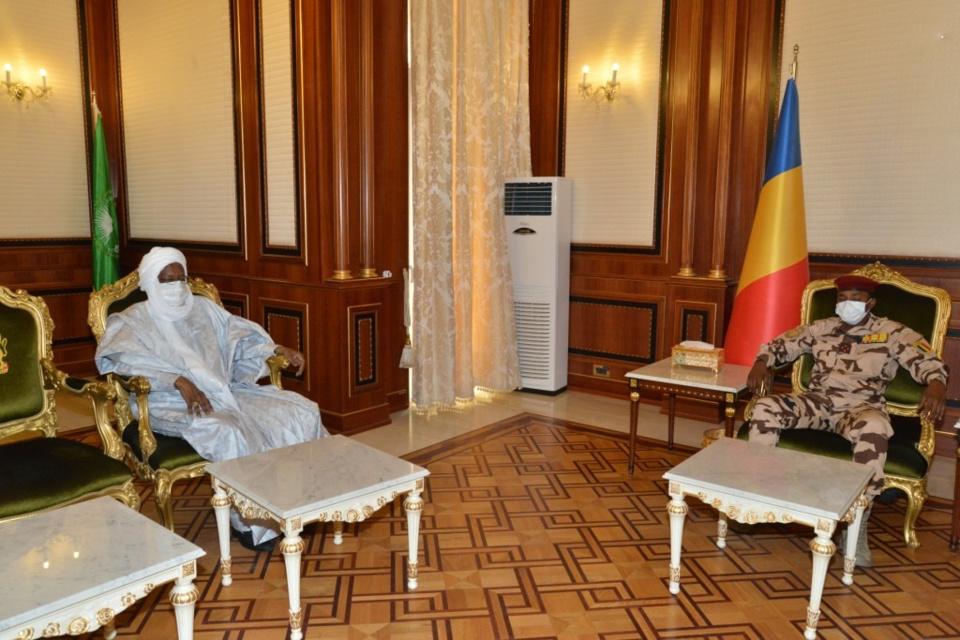 Tchad : Goukouni Weddeye et cinq ex-Premiers ministres reçus à la Présidence