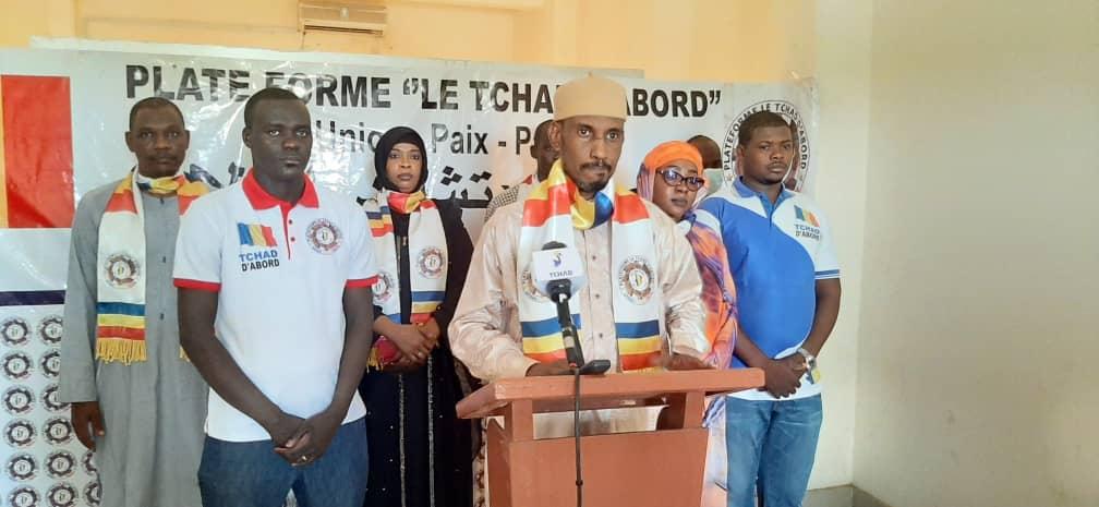 """""""Tchad d'abord"""" appelle le CMT à engager une large concertation"""