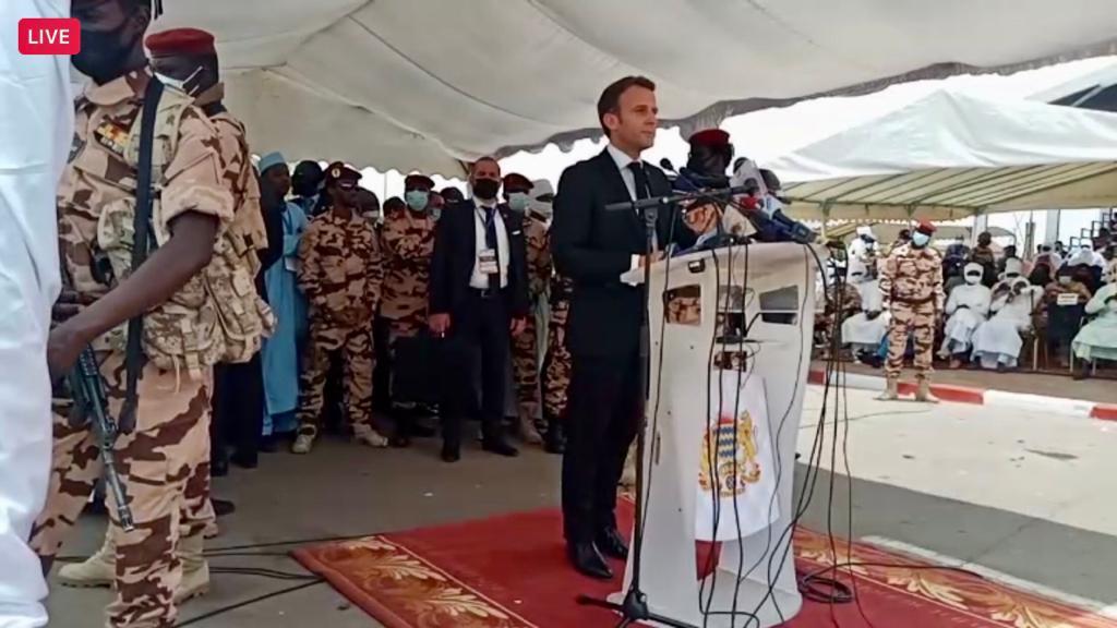Emmanuel Macron : « Idriss Deby était un chef exemplaire et courageux »