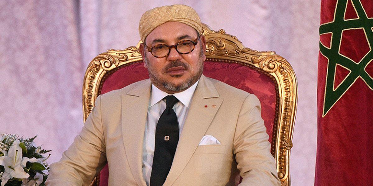 Le Roi Mohammed VI adresse ses condoléances suite au décès d'Idriss Deby. © DR