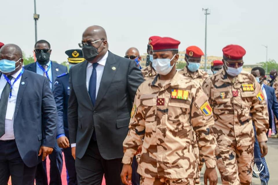 """Tchad : le président de la RDC souhaite un retour """"très vite"""" à l'ordre démocratique"""
