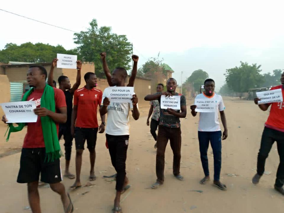 Tchad : le CAMOJET réclame justice suite à la répression des manifestations