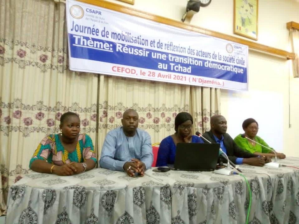Tchad : le CSAPR veut une transition civile