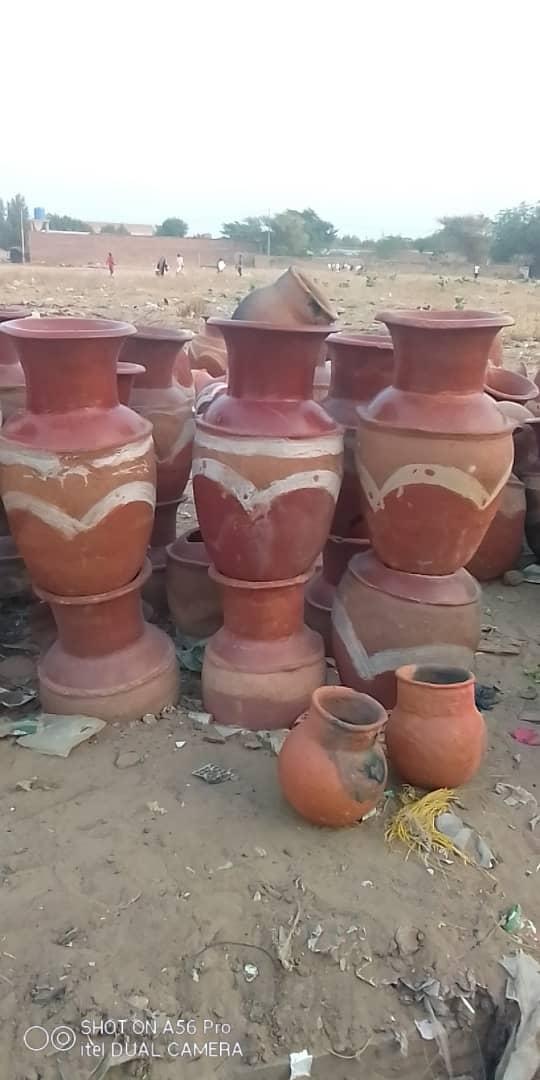 Tchad : La poterie comme activité génératrice de revenus