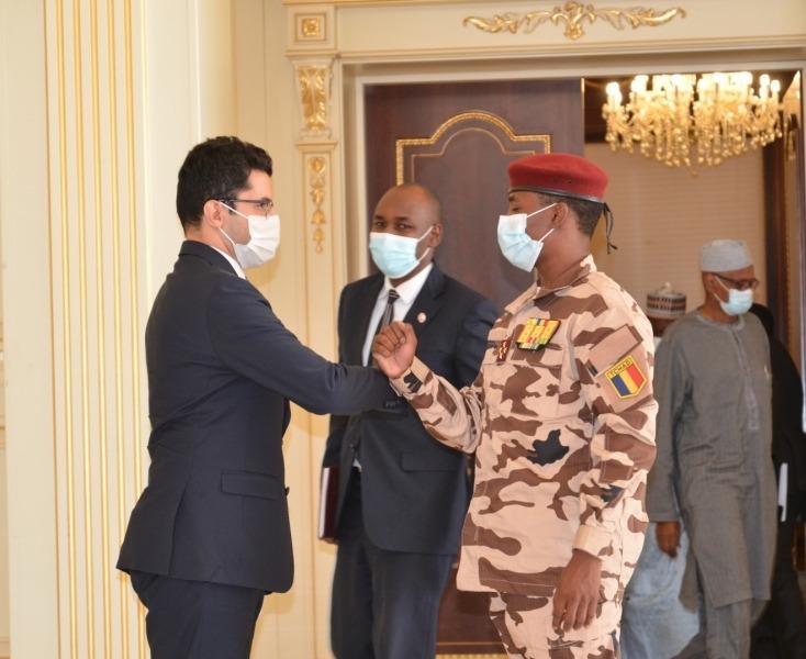Tchad : un chef de mission de l'ambassade de Turquie reçu à la Présidence. © PR