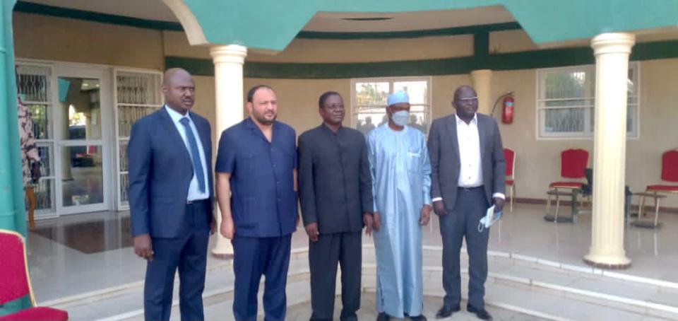 Tchad : le Premier ministre a reçu une délégation de la BSIC. © Ali Moussa/Alwihda Info