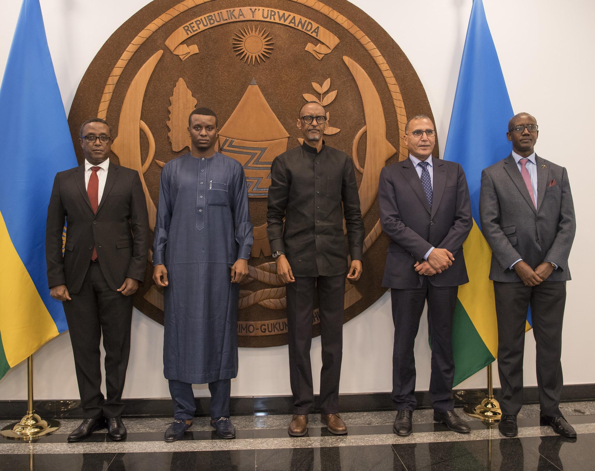Rwanda-Tchad : Paul Kagamé a reçu Abdelkerim Idriss Deby