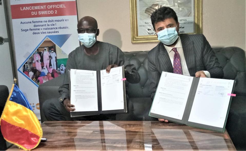 Investissements : Le Tchad signe un accord avec l'Institut du Forum mondial du tourisme. © Min.Économie