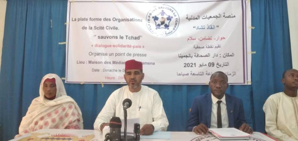 """""""Sauvons le Tchad"""" fait des propositions de sortie de crise"""