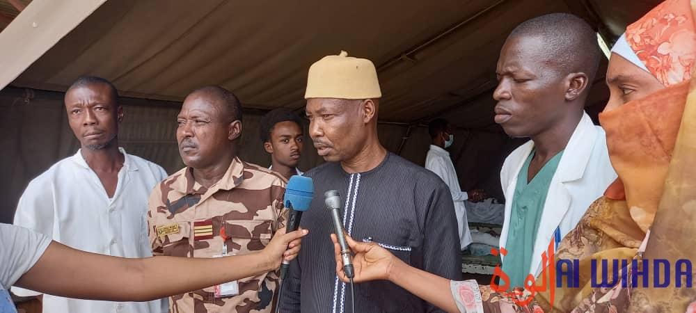 Tchad : des prisonniers de guerre hospitalisés à la garnison militaire