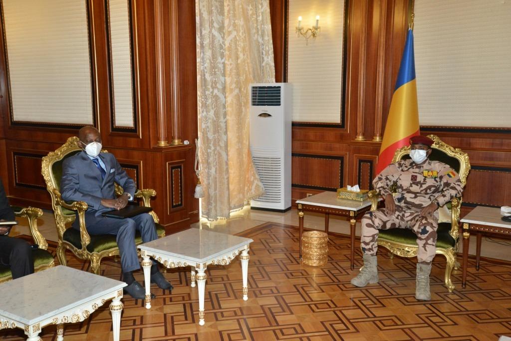 Tchad : le chef de la diplomatie togolaise à nouveau reçu au Palais présidentiel. © PR
