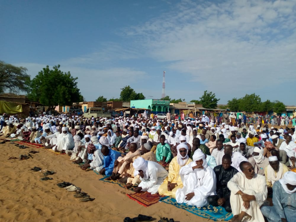 Tchad : les fidèles musulmans de Goz Beida célèbrent l'Aïd El-Fitr
