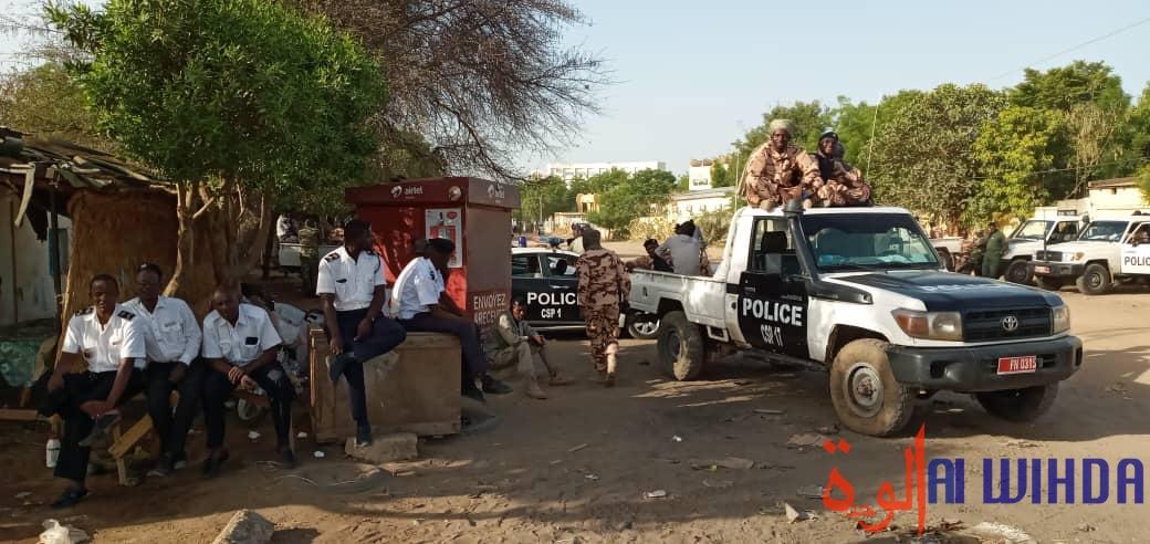 Tchad : un dispositif sécuritaire déployé à N'Djamena pour l'encadrement d'une marche