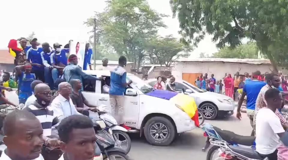 Tchad : dernier hommage au marcheur Eric Allaramadji Kondol. ©DR/Blaise D.